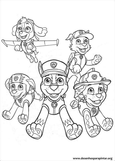desenhos para colorir imagens para colorir patrulha canina pagina desenho do patrulha canina desenho do patrulha canina