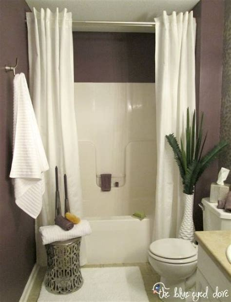 shower curtain ideas for small bathrooms hometalk spa inspired bathroom makeover