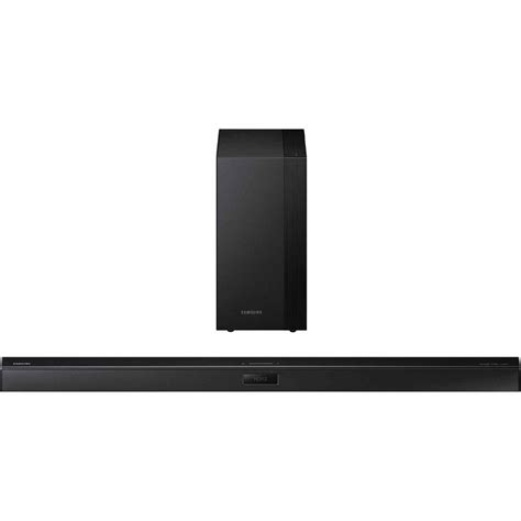 samsung hw h450 za 2 1 channel soundbar with wireless active subwoofer hw h450