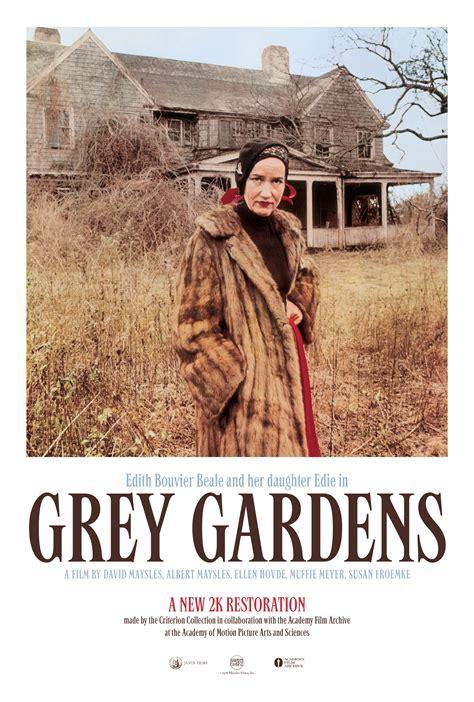 grey gardens poster shop the criterion collection