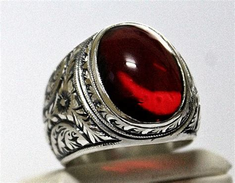 sterling silver 925 ring with agate y silverformen jewelry on artfire