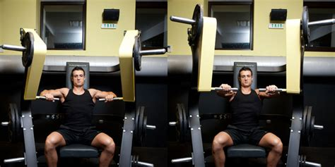 smith machine bench press weight difference machine bench press weight training exercises 4 you