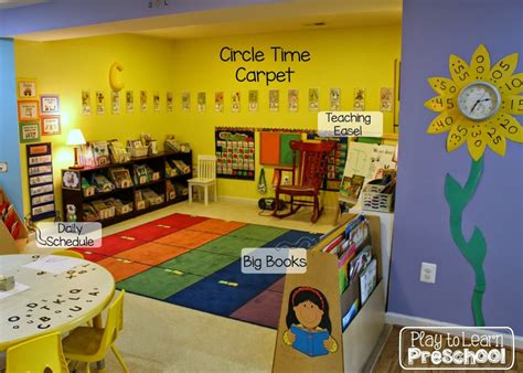 pre k classroom decorating themes play to learn preschool classroom tour and design ideas