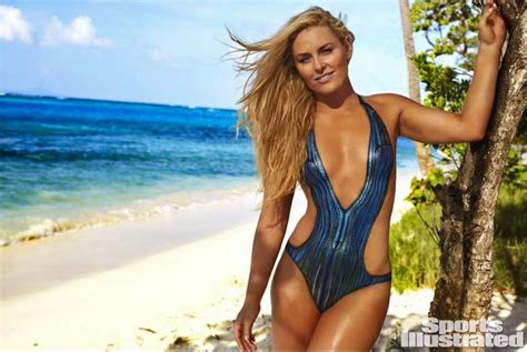 libro sports illustrated swimsuit 2017 olympic skier lindsey vonn stuns in body paint swimsuit for sports illustrated issue san