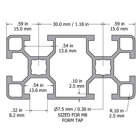 wandschrank 30 x 30 minitec t slotted aluminum extrusions modular aluminum