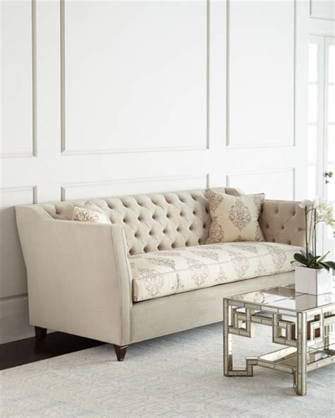 haute house sofa haute house couture tufted sofa