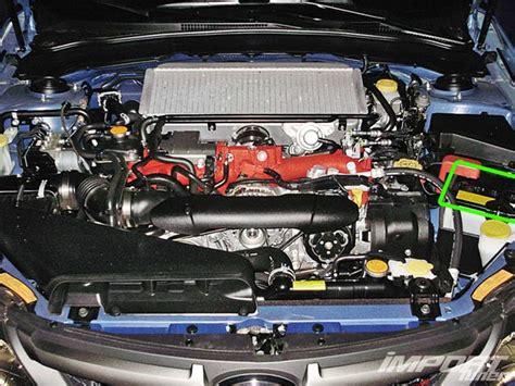 Subaru Impreza Battery by Subaru Impreza Car Battery Location Abs Batteries