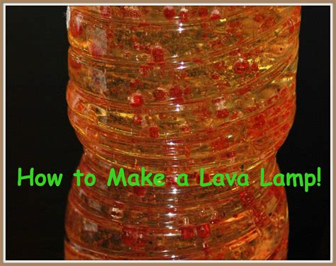 how to make a lava l crafts 4 boys