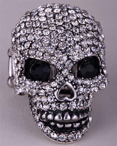 skull for jewelry skull skeleton stretch bracelet for biker bling