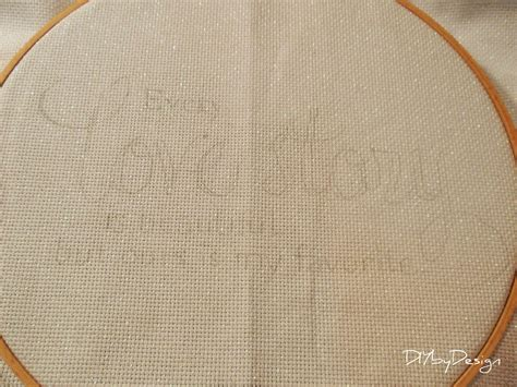 transfer pattern to fabric embroidery diy by design how to transfer text to fabric for embroidery