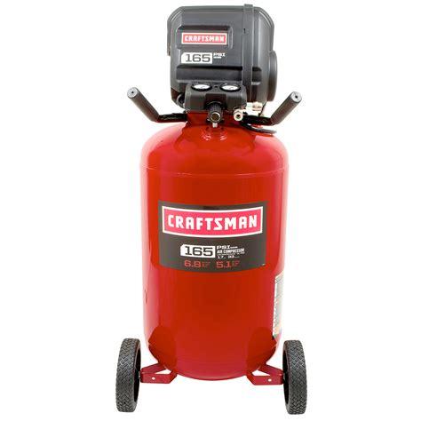craftsman  gallon  hp oil  vertical air compressor  max psi