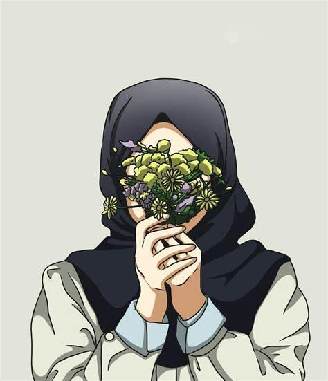 huzur kartun gambar karakter seni islamis