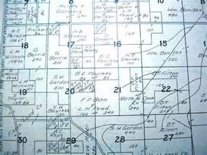 Hunt County Property Records Cd 1930 S Luce County Michigan Plat Map Atlas Ebay