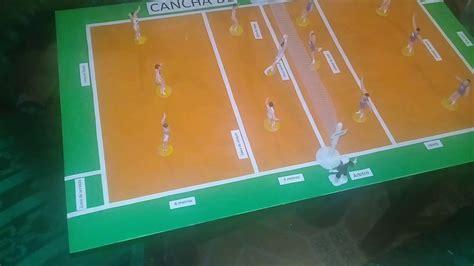 como hacer una maqueta 5 youtube maqueta de cancha de voleibol youtube