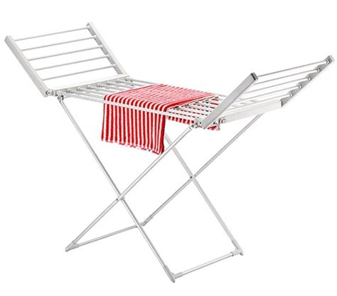 Towel Drying Rack by Electric Heated Clothes Towel Drying Rack Aluminum Airer