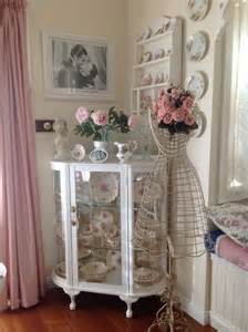 Dining Room Corner Cupboard Shabby Chic Dining Room Corner Cupboard In My