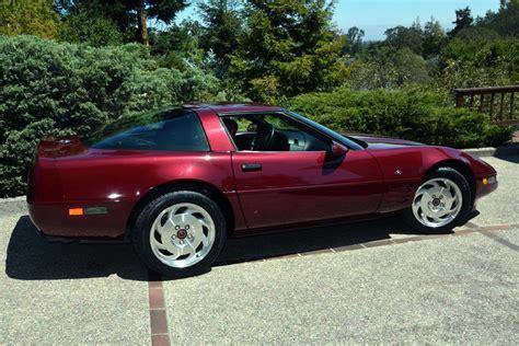 40 anniversary corvette 1993 chevrolet corvette 40th anniversary coupe 185499