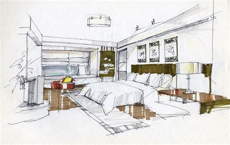 interior design sketches bedroom interior design sketches