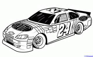 nascar coloring pages drag race car coloring pages