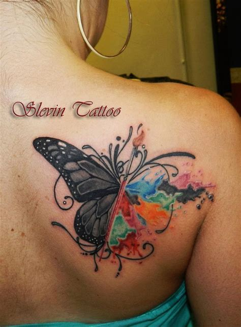 watercolor tattoos long term 29 best black cat and butterfly tattoos images on