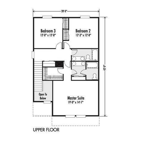 the ruby custom floor plan adair homes