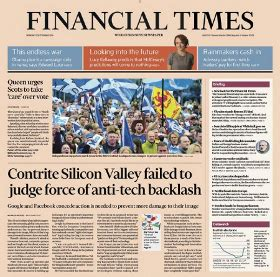 Financial Times Newsletter Publicaciones Digitales