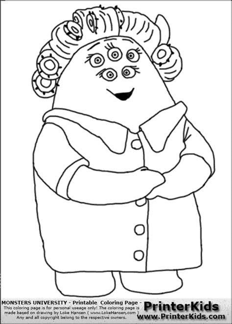 Simple Squishy Black Paw monsters coloring pages getcoloringpages