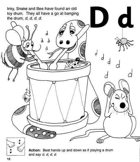 Phonics Coloring Pages Jolly Phonics Colouring Pages by Phonics Coloring Pages