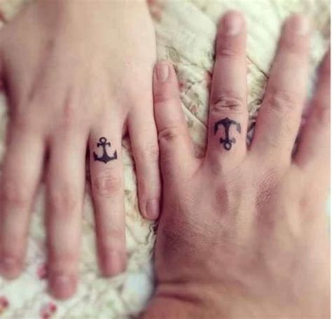 tribal marriage tattoos wedding rings the new way of exchanging of vows