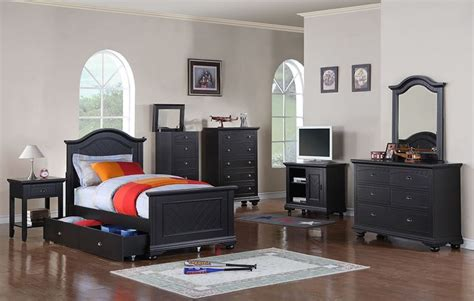 kids black bedroom furniture dallas designer furniture hamilton bedroom set with