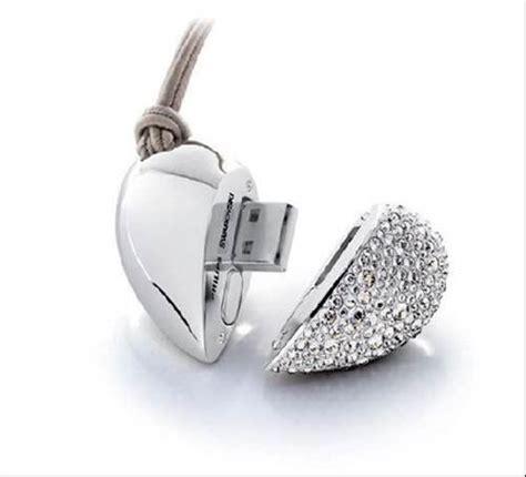 Swarovski Usb Key by Swarovski Encrusted Philips Heartbeat Usb Memory