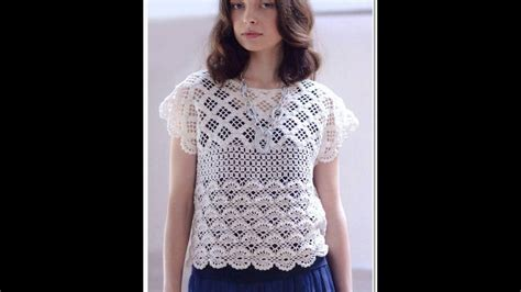 youtube blouse pattern crochet patterns for free crochet blouse 1439 youtube