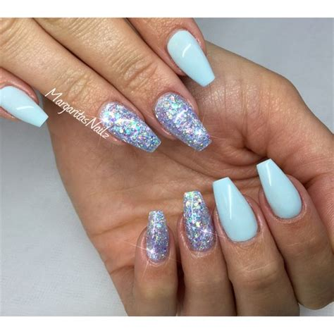 Square Daily Baby Blue best 25 sky blue nails ideas on light blue