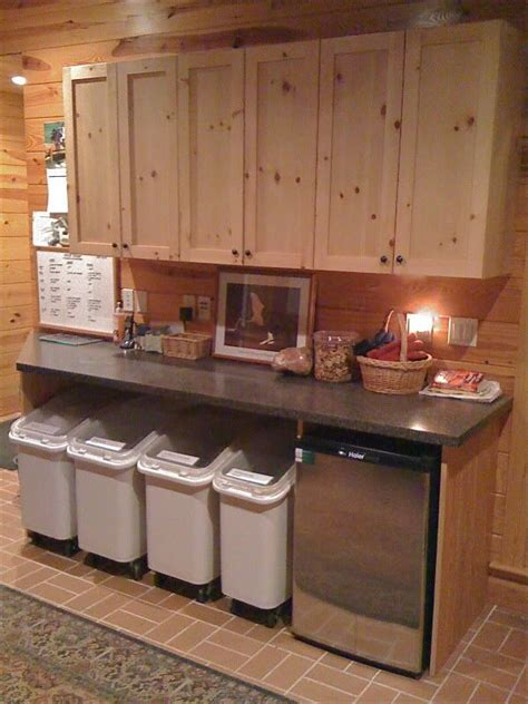 47 best images about barn on pinterest storage sheds barn plans and shed plans feed room i love the idea of these bins i definitely
