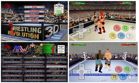 download mod game wrestling revolution 3d wrestling revolution 3d mod custom roster android 2 3