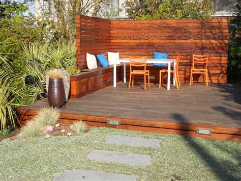 wood backyard choosing the right deck for your wine country backyard