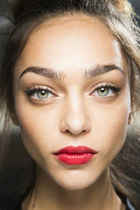 red lips at bianca spender the best beauty looks at schminktipps roter lieppenstift als tendenzi 246 se klassik