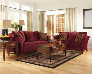 burgundy living room furniture blank page