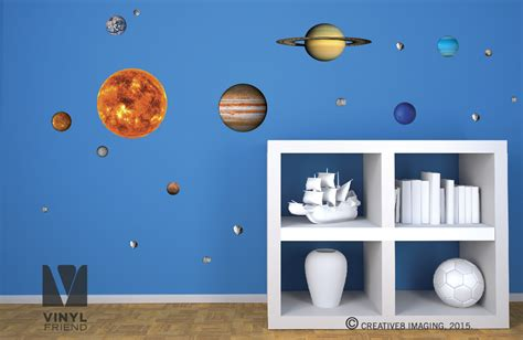 Lightning Mcqueen Wall Stickers wall decal educational solar system wall decals solar
