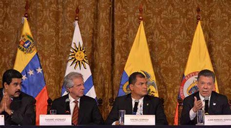 Cia Mba Internship by Maduro Y Santos Acuerdan Retorno De Sus Embajadores E