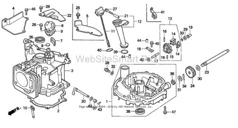 honda lawn mower engine schematic get free image about wiring diagram
