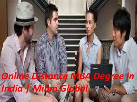 Indian Mba Degree In Usa by Distance Mba Degree In India