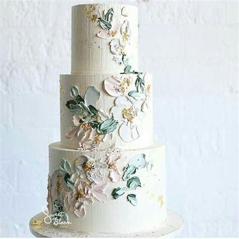 buttercream paint textured buttercream painting wedding cakes mon cheri