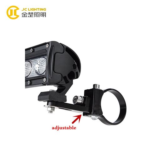 led light mounting brackets jc002a 1 5 inch stainless steel led work light