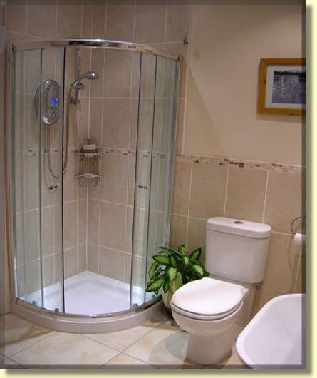 bathroom shower area in modern bathroom refit in belfast