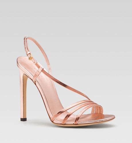 gold high heel sandals evening gucci othilia evening high heel sandal in gold gold