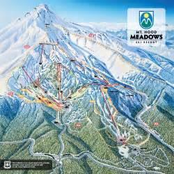 mt ski resort trail map ski