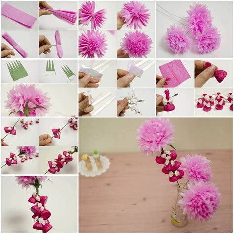to make beautiful how to make beautiful crepe paper flowers and chocolates
