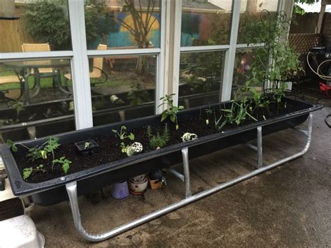 a raised garden bed cheap 25 best ideas about feed trough on view house