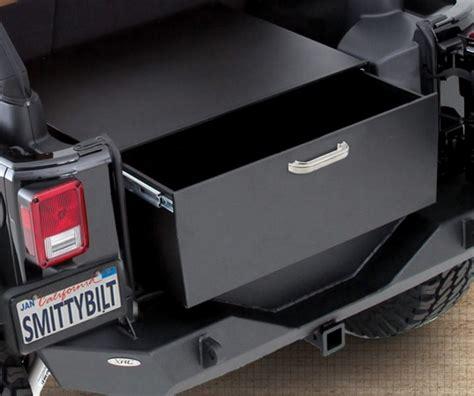 New Handbag Jeep Lock 1636 2 2763 smittybilt secure lock box rear mount jeep wrangler 2007 2017 ebay